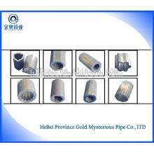 DIN17175 / DIN1629 40Cr Бесшовные трубы из углеродистой стали / круглые бесшовные стальные трубы