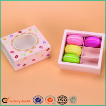 Cassetto Macarons Packing Box Printing Window