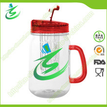 480ml Double Wall Transparent Plastic Tumbler (IB-A5)