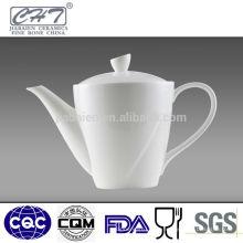 Top vente blanc porcelaine porcelaine café turc cafetière bouilloire