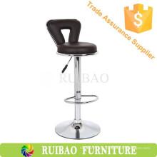 Modern Design Round Seat Cheap bar cadeiras atacado com couro PU