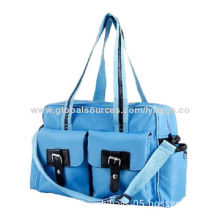Diaper bag, made of polyester, sized 45*15*30cm