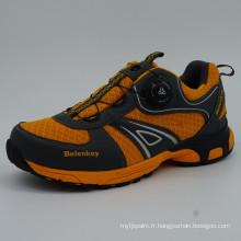 Chaussures de trekking pour hommes Chaussures de sport en plein air avec imperméable à l'eau