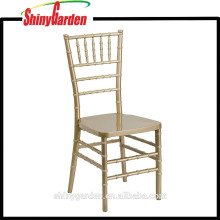 Resin Wedding Chiavari Chair, Gold/Silver/White (KD)