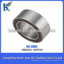 Cojinete magnético del cojinete de la polea del embrague del acondicionador de aire auto 40 * 57 * 24m m