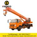 Hoisting Wheel Truck Crane For 8 Ton