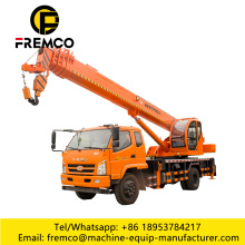 Hoisting Wheel Truck Crane For 8 Ton