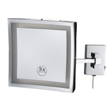 Espejo de baño LED para hotel con función de batería