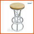 Tabla redonda de la barra de la tabla de la barra del tubo del MDF y del aluminio para los muebles de la barra