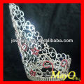 Large colored pageant crowns