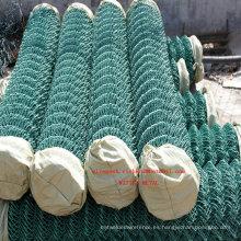 Malla de alambre del diamante de la cerca del acoplamiento de cadena de la fábrica del fabricante de China