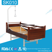 SK010 Home Medical Equipment Wooden Manual Hospital Adjustable Bed