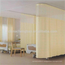 L'hôpital fournisseur de Chine a utilisé des rideaux à lit jetables