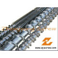 Extruder Screw Barrel Plastic Extrusion Screw Barrel Bimetallic Screw Barrel
