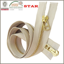 # 5 Messing Zipper für Kleider