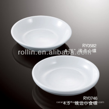 healthy durable white porcelain oven safe snack dishes