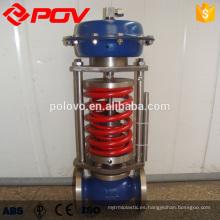 China hizo la válvula de control de temperatura de funcionamiento automático de ahorro de energía