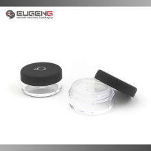 Mini loose powder container with sifter