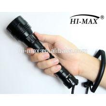 Cree xm-l t6 led с магнитным переключателем для дайвинга фонарик 1000 led aluminium flashlight