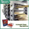 Machine de fabrication de sacs à papier Kraft chimique automatique haute vitesse