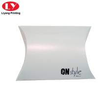 Logo kustom kotak bantal putih untuk seluar dalam
