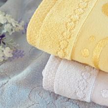бархатное жаккардовые полотенца серии