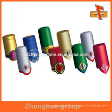 Bunte bedruckte Bierflasche Hals Etikett mit benutzerdefinierten Design