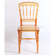 2016 Clear Orange Napoleon Resin Chair XYN2223