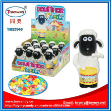 Plastic Drum Sheep Goats Kids Toy with Candy