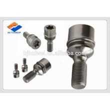 T80 torx head titanium lug bolts with spacer