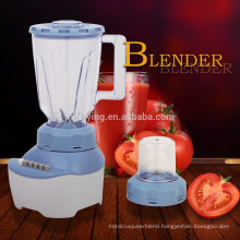 New Design High Quality 4 Speeds 1.5L PS Or PC Jar 2 In 1 Electric Blender
