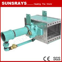 Horno de circulación de aire caliente, quemador de aire de gas