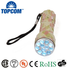 12 LED Camouflage Color Mini LED Torch