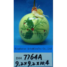 Christmas Tree Decorative Ceramic Baubles