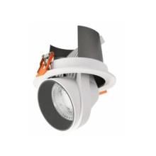 Lumière vers le bas à LED Scoop rotative