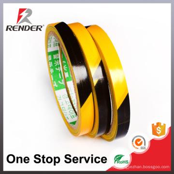 China Maunfacturer Preis Isolierung Haftung PVC Untertage Warnung Bias Tape Boden Markierung Tape