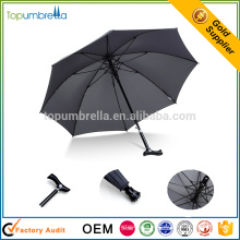 Professional Free sample china factory unique walking stick rain umbrella