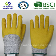 Cut Resistant Safety Work Glove with 3/4 Latex Coated