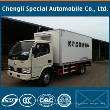 Proveedor de los fabricantes del camión del refrigerador de la marca 4X2 Dongfeng 4tons