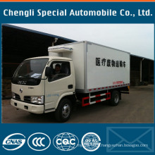 4X2 Dongfeng Brand 4tons Refrigerator Truck Manufacturers Supplier