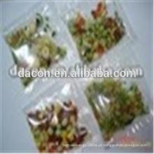 Saquinho vegetal para macarrão instantâneo