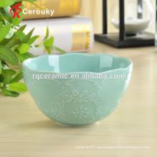 Cuenco de cerámica de la sopa que pinta los tazones de fuente