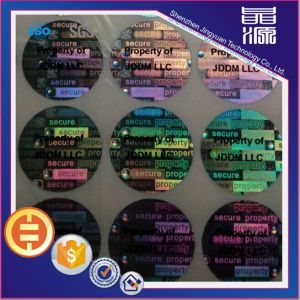 3D Effect Hologram Sticker Label