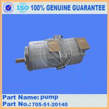 Gear pump 705-51-20140 for WA300-1 komatsu wheel loader parts