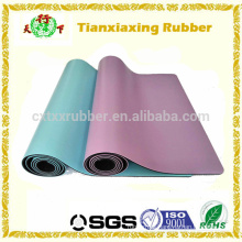 Eco Rubber Gym Exercising Anti Slip PU Yoga Mat