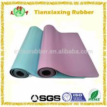 Eco Rubber Gym Exercício Anti Slip PU Yoga Mat