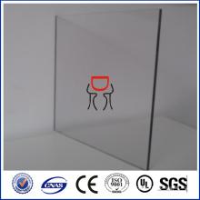 Feuille acrylique en fonte vierge claire de 3 mm