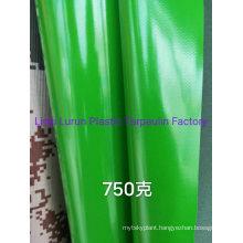 750 GSM Green PVC Tarp Cover