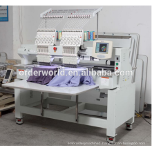 Multipurpose 2 Head Embroidery Machine , Computer Machine Embroidery For Business