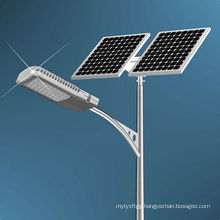 Hot!!High quality with HDG and Powder coated solar hybrid Street Lamp pole